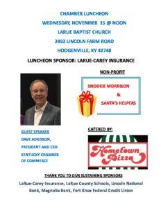 November Chamber Luncheon