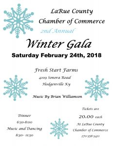 2nd Annual Winter Gala